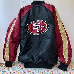 San Francisco 49ers NFL Vintage Bomber Jacket